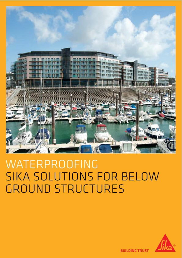 Download the Sika Waterproofing Brochure