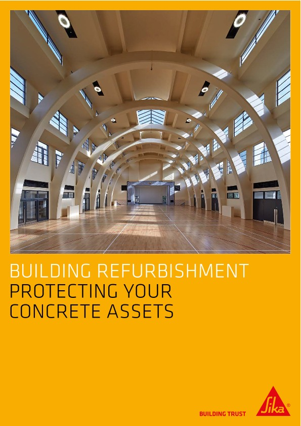 Building Refurbishment - Protecting Your Concrete Assets