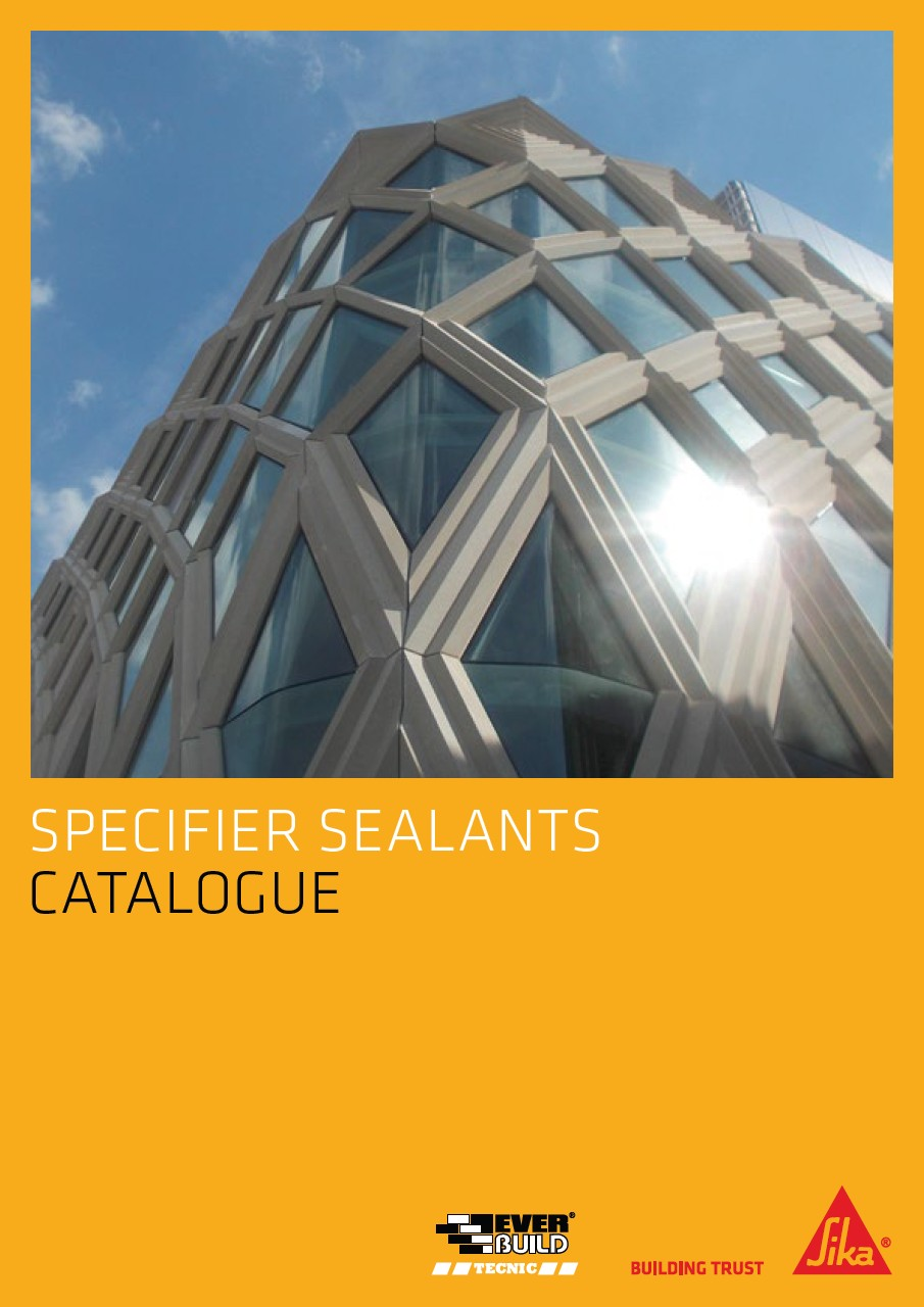 Sika Everbuild Specifier Sealants Catalogue