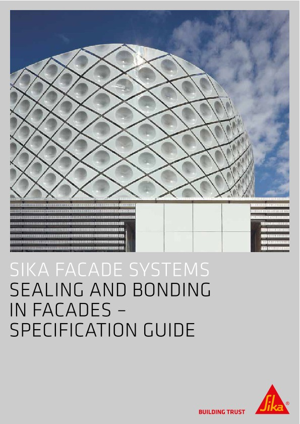 Sealing & Bonding in Facades - Specification Guide