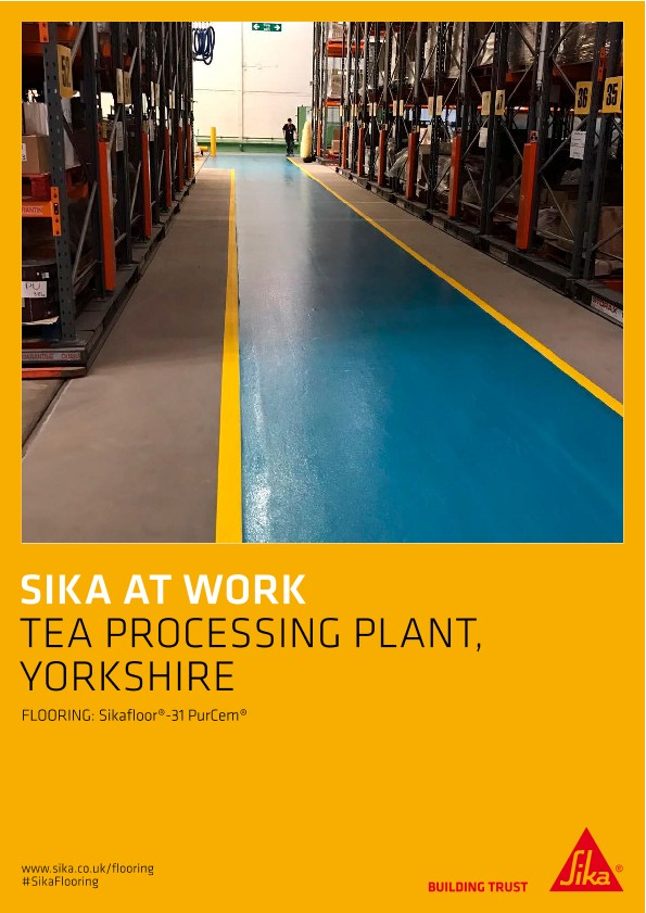 Tea Processing Plant, Yorkshire