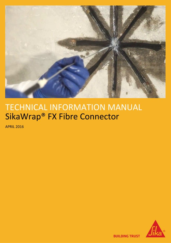 SikaWrap® FX Fibre Connector: Technical Information Manual