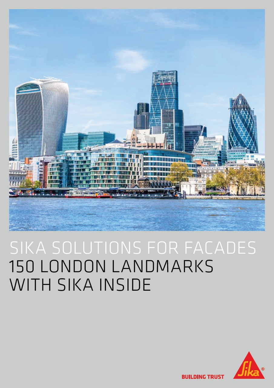 150 London Landmarks with Sika Inside