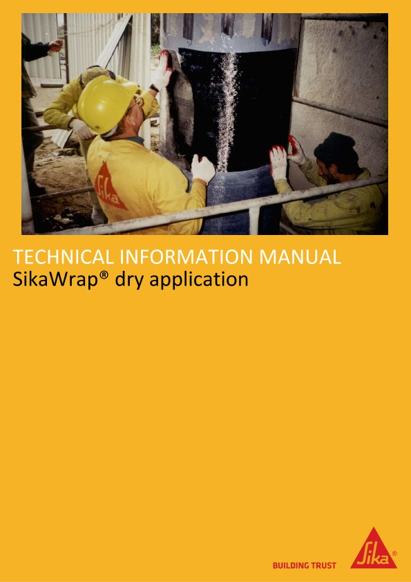 SikaWrap® Dry Application