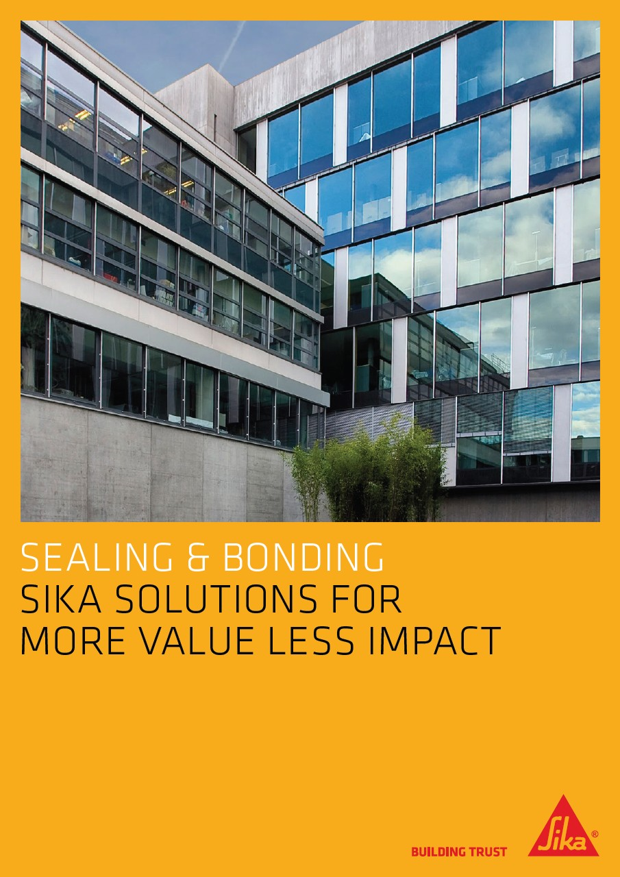 Sika Solutions for More Value Less Impact