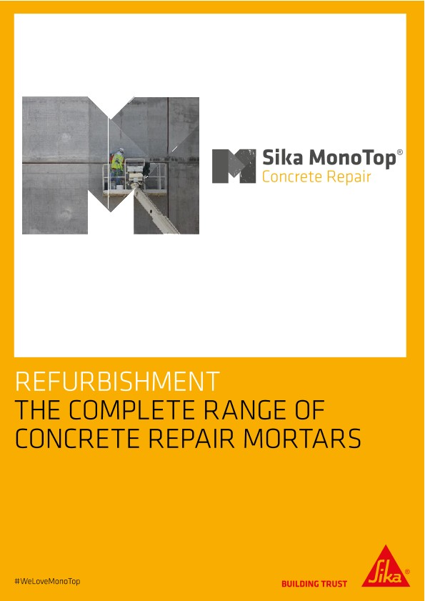 The Complete Range of Concrete Repair Mortars