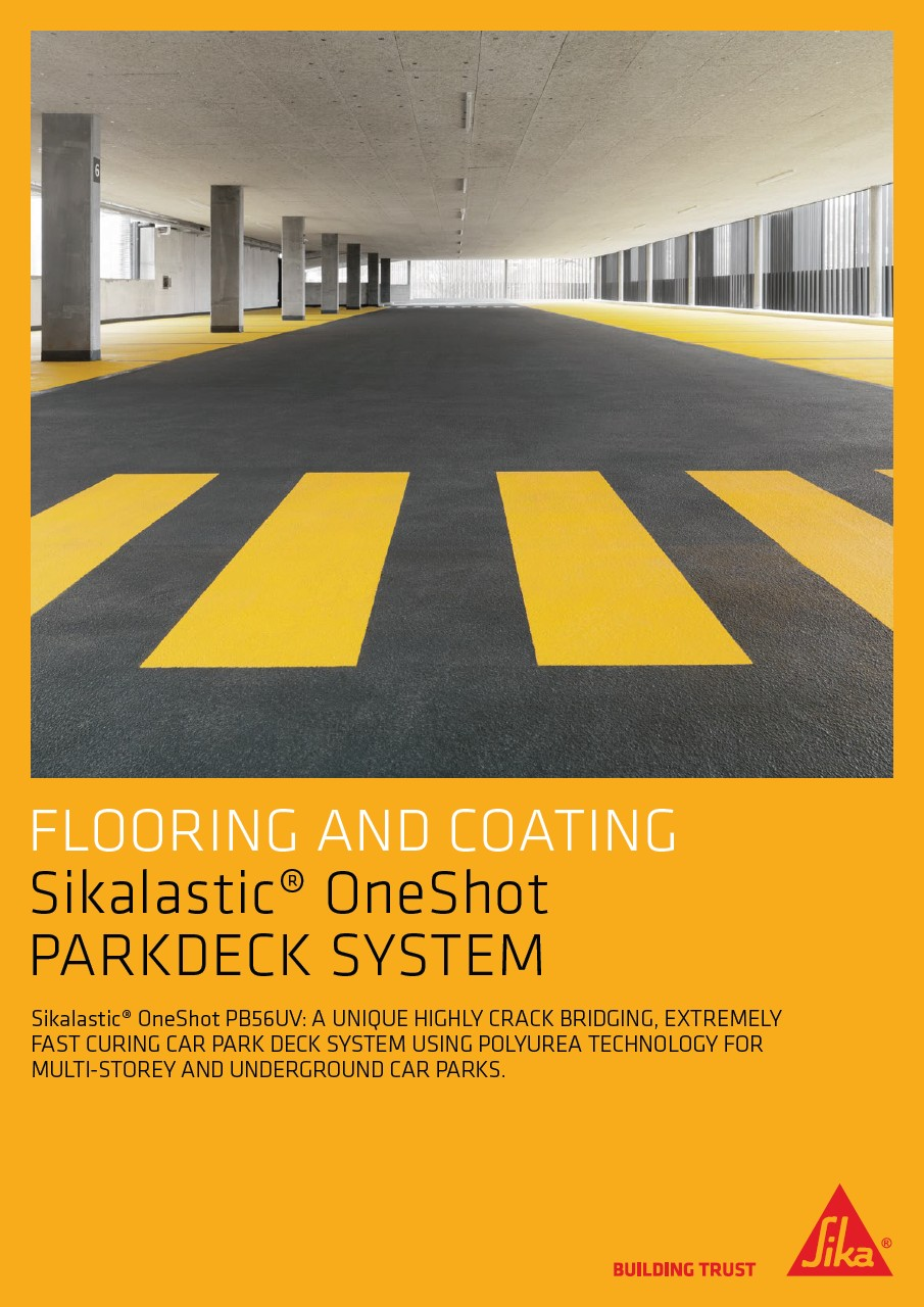 Sikalastic OneShot Parkdeck Flooring Systems