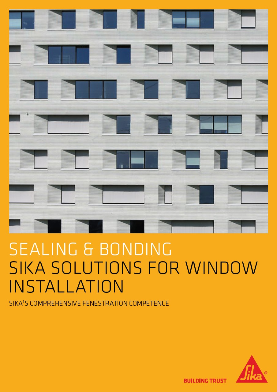 Sika® Solutions for Window Installation brochure